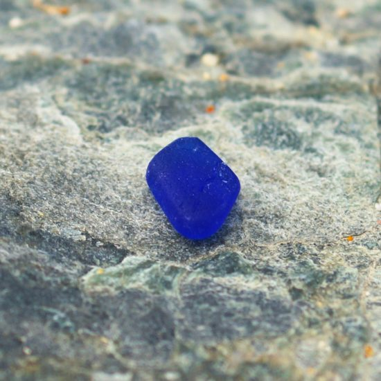 "build your own custom Sea Glass vivid blue ring hammered sparkly sterling silver cornwall Newquay handmade beachcombed surf jewellery aqua belcher chain 14"" 16"" 18"" 20"" 22"" sand waves ocean beach mermaid boho recycled bohemian womens girls plastic free handmade turquoise bright blue aqua green cobalt blue"