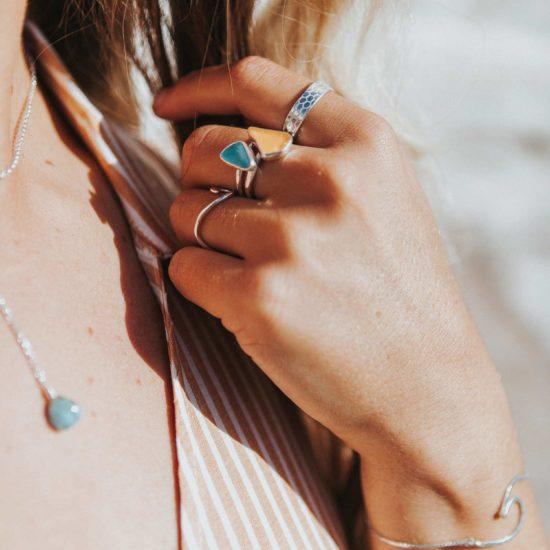 "Sea Glass ring pendants sterling silver cornwall Newquay handmade beachcombed surf jewellery aqua belcher chain 14"" 16"" 18"" 20"" 22"" sand waves ocean beach mermaid boho recycled bohemian womens girls plastic free handmade recycled"