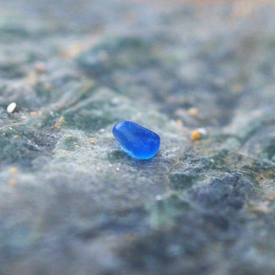 "build your own custom Sea Glass vivid blue ring hammered sparkly sterling silver cornwall Newquay handmade beachcombed surf jewellery aqua belcher chain 14"" 16"" 18"" 20"" 22"" sand waves ocean beach mermaid boho recycled bohemian womens girls plastic free handmade turquoise aqua cobalt blue"